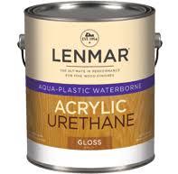 Insl X Cabinet Coat by Aqua Plastic Waterborne Urethane 1wb 14xx Series