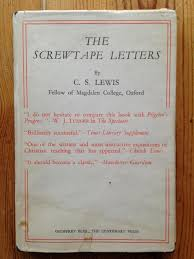The Screwtape Letters by C S Lewis Geoffrey Bles The Centenary