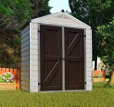 6x8 Storage Shed Home Depot by Amazon Com Palram Skylight Storage Shed 6 U0027 X 3 U0027 Patio Lawn