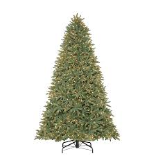 Christmas Tree 7ft Black by Shop Holiday Living 9 Ft Pre Lit Mckinney Fir Artificial Christmas