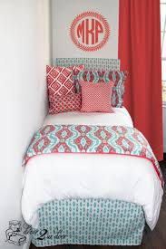 Bed Skirt Pins by 60 Best Coral And Teal Bedding Images On Pinterest Teal Bedding