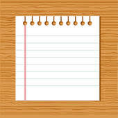 Notebook clipart papers Pencil and in color notebook clipart papers