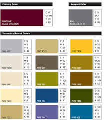 Showing Aggie Maroon Color Code