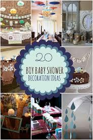 boy baby shower decoration ideas