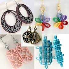 Image Of Quilled Flower Earrings Tutorial