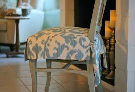 How To Make Dining Room Chair Covers Exceptional Fabric Chairs For Kitchen