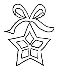 Pictures A Nice Christmas Star Coloring Pages