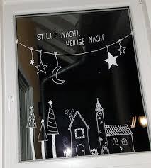 kreidebild weihnachten edding kreidestift diy