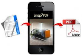 Scan and create PDF via iPhone with Snap2PDF