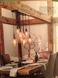 adorable rustic dining room light fixture with best 25 kitchen