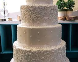 Four Tier Faux Fake Wedding Cake