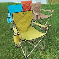 Alps Mountaineering King Kong Chair Khaki by Brylanehome Extra Wide King Kong Folding Camp Chair Burnt Orange0