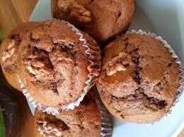 bananen nutella muffins mit schokoraspel