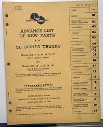 58 Studebaker 3E Truck Dealer Advance Parts Catalog Book Pickup HD ... 40 Studebaker Truck Dealer Parts Catalog Book Series 20 25 30 Original Bangshiftcom 1953 Truck Vintage Station Wagon V8 Emblem 1343240 1343241 Dry Stored Beauty 1947 Pickup 1963 Champ 63st9057c Desert Valley Auto Commander 47st1635d 50 2r Us6 G630 2 12 Ton 6x6 Gmc Transfer Case Master Boss 2w6 2m6 Hemmings Find Of The Day 1946 M5 Daily Pictures 1950 Ad04 Studebaker Trucks Pinterest