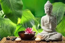 buddha figuren im schlafzimmer nach feng shui einrichten