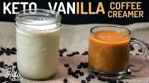 Vanilla Keto Coffee Creamer Recipe