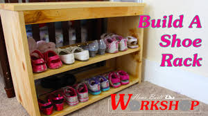 How To Build A Shoe Rack - YouTube Home Shoe Rack Designs Aloinfo Aloinfo Ideas Closet Interior Design Ritzy Image Front Door Storage Practical Diy How To Build A Craftsman Youtube Organization The Depot Stunning For Images Decorating Best Plans Itructions For Building Fniture Magnificent Awesome Outdoor