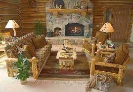 Gorgeous Rustic Living Room Furniture Decoration Ideas