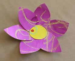 20 Gorgeous Flower Crafts Intended For Art Craft Ideas Making Flowers