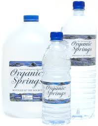 Organic Springs Bottled Water