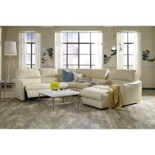Granite Gray Classic Modern 6 Piece Sectional Sofa Blaire
