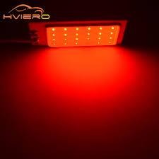 Aliexpress Buy 2Pcs T10 COB 24 SMD LED Panel White Red Car
