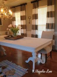 Creative Ideas Chalk Paint Dining Room Table White Painted Monogrammed Chairs 11