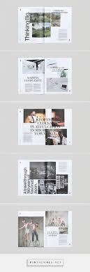 100 Magazine Design Ideas Trace Socio Product Brochure