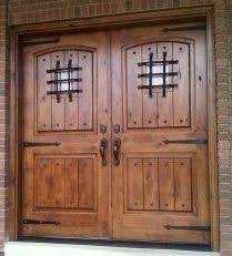 Rustic Exterior Doors Fancy Inspiration Ideas 18 Style Double Entry
