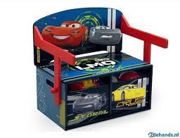 bureau cars disney speelgoedbank tafel bureau disney cars te koop tweedehands nl