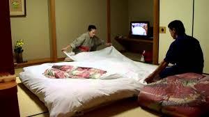 Futon Setup by The Pros at Japanese Hotel sen Ryokan Massage
