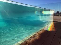 100 Infinity Swimming 4 Side Transparent Pool Acrylic Panel Installations