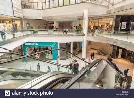 rideau shopping centre stores inside cf rideau centre shopping mall in ottawa ontario canada