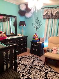 Tiffany Blue Room Ideas Pinterest by Girls Nursery In Tiffany Blue U0026 Black Nursery Ideas Pinterest