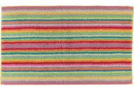 60x100 cm cawö lifestyle i badteppich multicolor streifen
