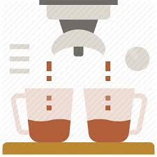 Coffee Double Espresso Maker Shot Icon