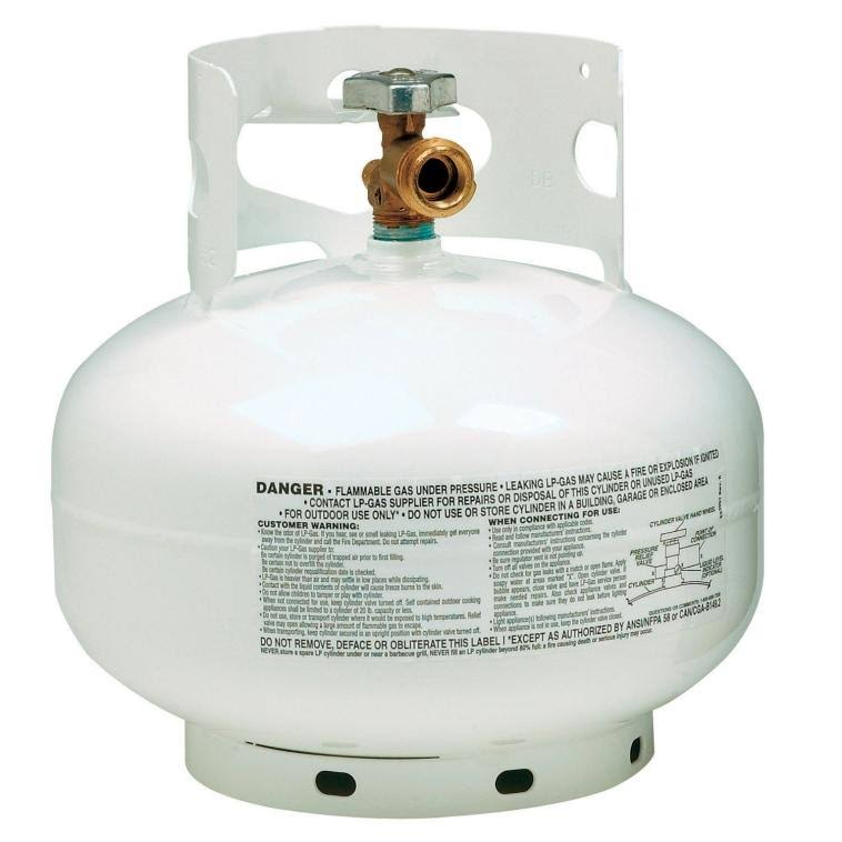 Manchester Cylinders Tank and Equipment 103931 Propane Tank - 11lbs