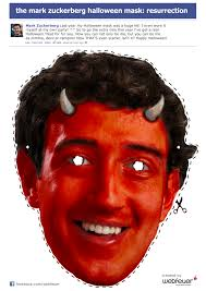 Halloween Resurrection Mask by The Mark Zuckerberg Halloween Mask Resurrection Die Social
