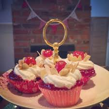 Cherry Bakewell Cupcakes By Ms Cupcake I Do Love A
