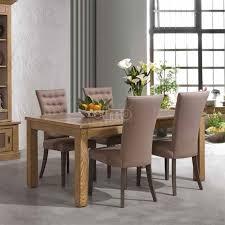 table salle à manger contemporaine chêne massif et céramique en ce