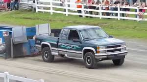 1996 Chevy 2500 454 BBC Truck Pull - YouTube