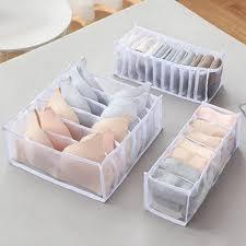 3 stück unterwäsche aufbewahrungsbox haushaltsschublade aufbewahrungsbox garderobe schrank veranstalter für unterwäsche bhs socken höschen