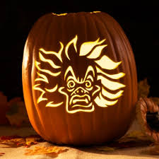 Mike Wazowski Pumpkin Carving Patterns by Cruella De Vil Pumpkin Carving Template U2013 Disney Inspired