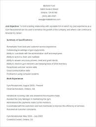 Top Rated Gym Manager Resume Fitness Unforgettable Operations Sample