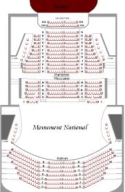 salle mercure montreal salle ludger duvernay plan de salle spectacle billeterie et