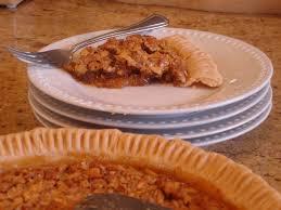 Epicurious Pumpkin Pecan Pie by Classic Southern Pecan Pie