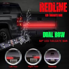 100 Truck Tailgate Light Bar 60 Flexible LED Signal Brake Back Up