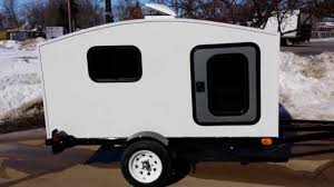 Small WonaDayGo Camper Trailer For Sale From SaferWholesale Mini Camping Teardrop