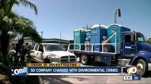 100 Rental Trucks San Diego Marcos Portable Toilet Rental Business Charged With