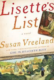 Author Spotlight Susan Vreeland author of LISETTE S LIST